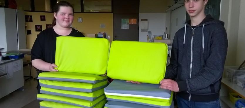 Das Grüne Klassenzimmer – Sitzkissen leicht gemacht!