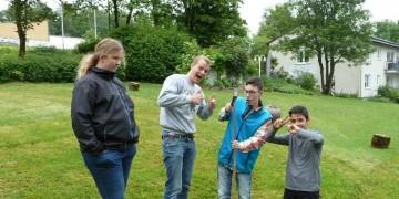 Das Schulgartenprojekt startet