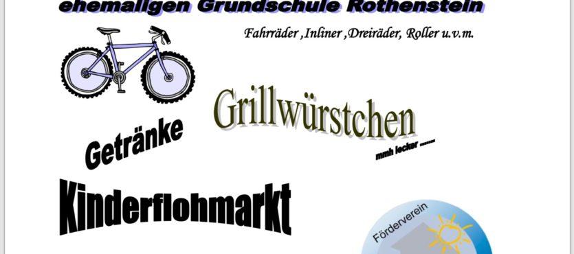 Fahrradbasar im Schulzentrum Rothenstein